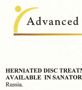 Herniated Disc Treatment with Extentrac<sup>®</sup> Elite is now Available in Santoria of Sochi