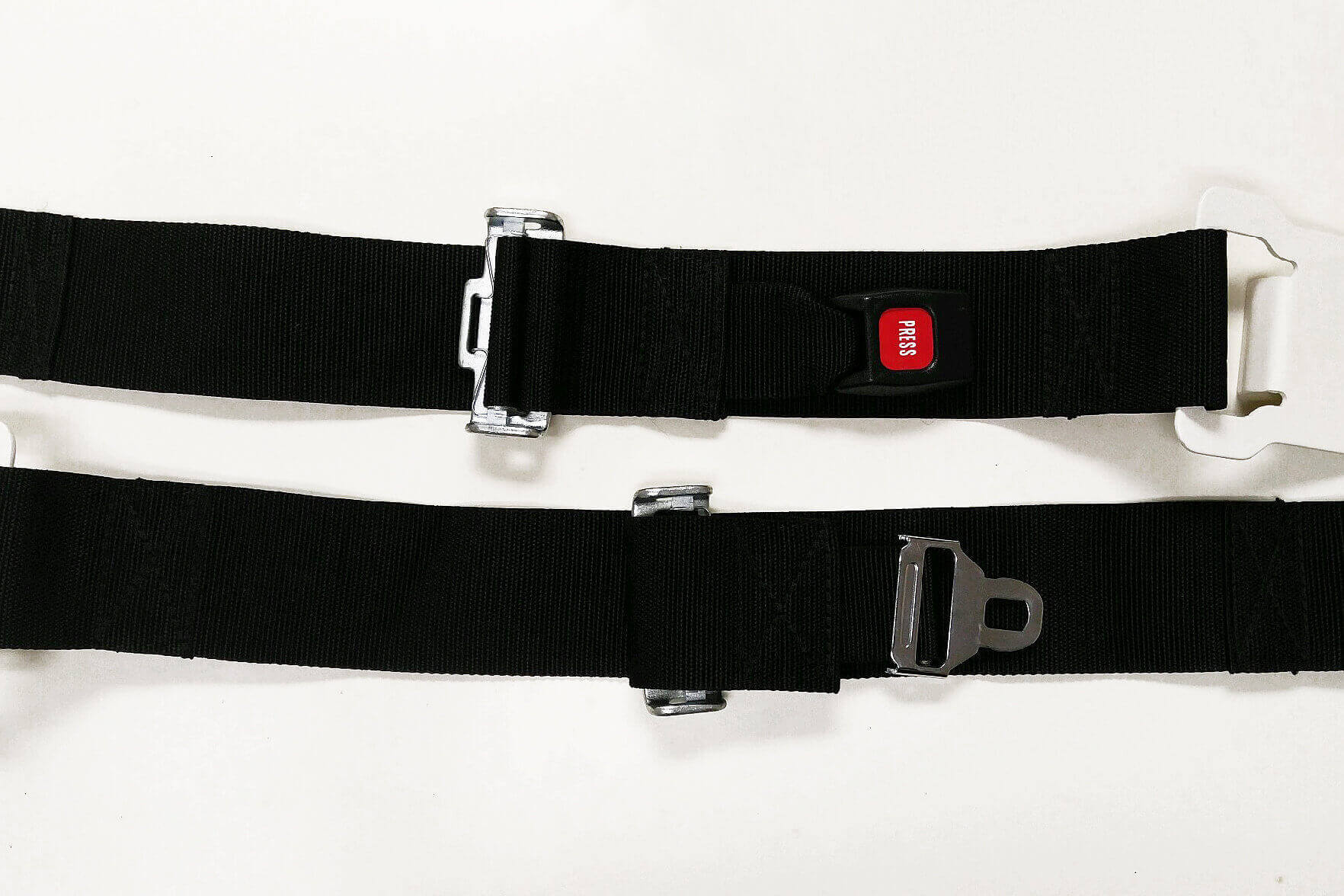 Lumbar Seat Belt Pair